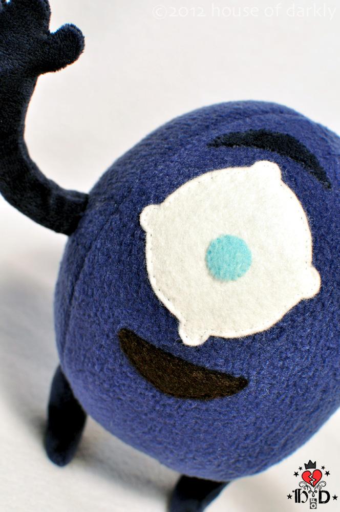 Meemert plush mascot waves hello by brokensymphony