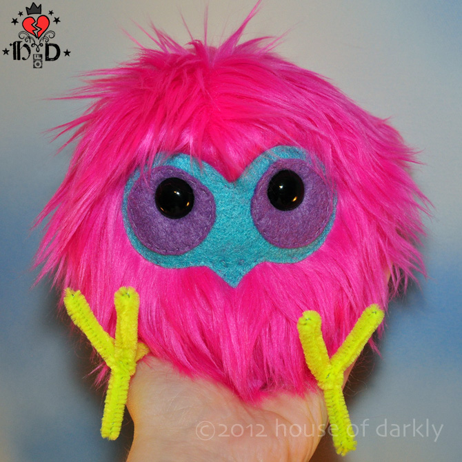FLB plush (Funny Little Bird) by brokensymphony