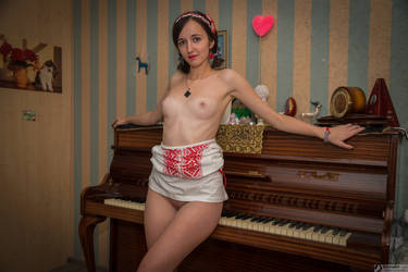 My Piano Love by bonnyartcom