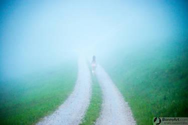 Misty Roads by bonnyartcom