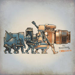 THE EVOLUTION OF CAMERA by rhobdesigns
