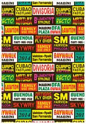 The Pattern Of Manila by rhobdesigns