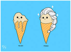 Frozen Ice Cream