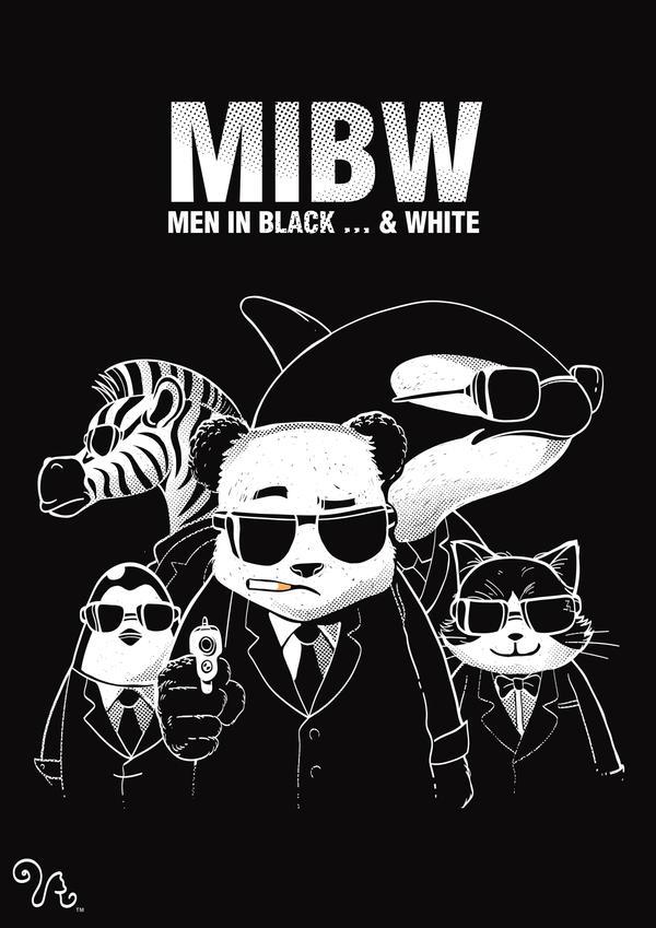 MIB...W by rhobdesigns