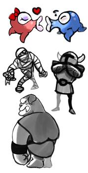 Zelda sketches