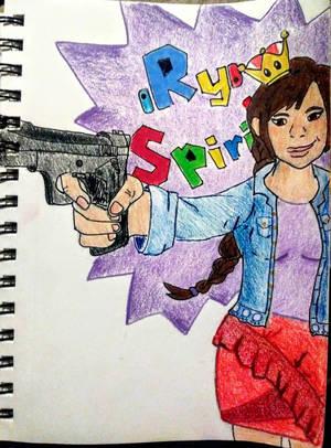 a Ryde or Die kind of gal by randomMeAndBob