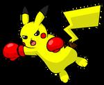 Punchy Pikachu