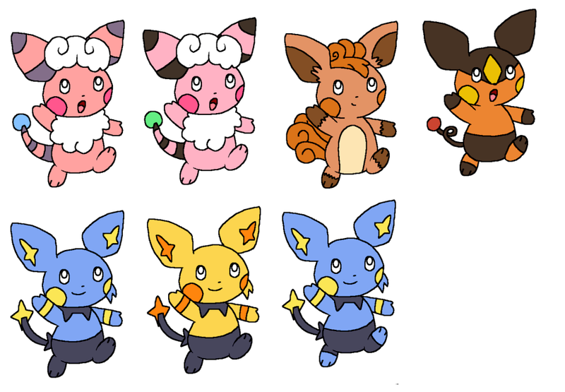 pichu pokemon mix adopted1 by kat skittychu on deviantart