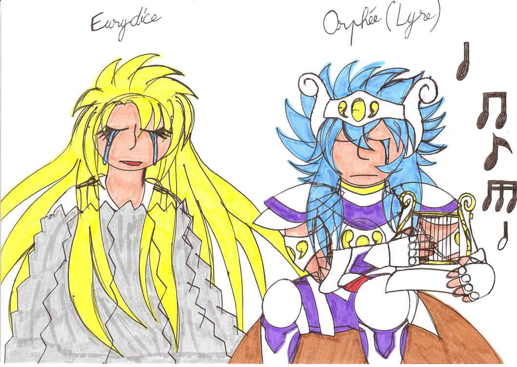 Saint Seiya Silver Saint Lyra Orphee/Eurydice by CARGOCAMP ...
