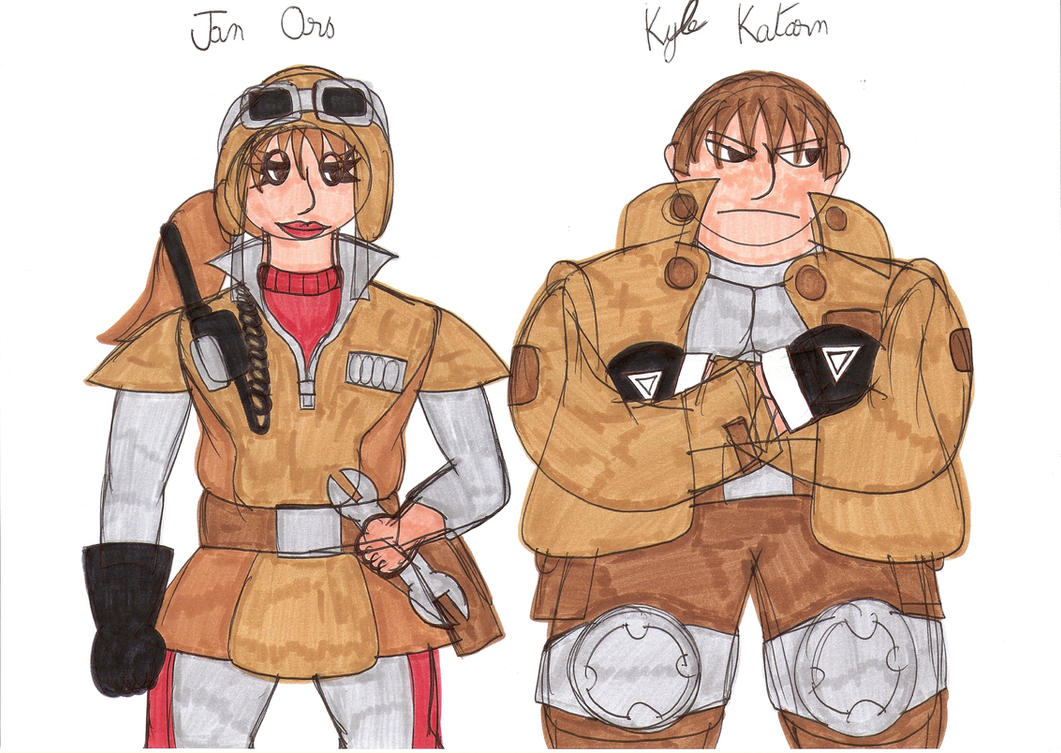 Kyle Katarn And Jan Ors