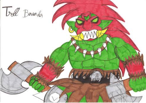 Warcraft II Troll Berserker