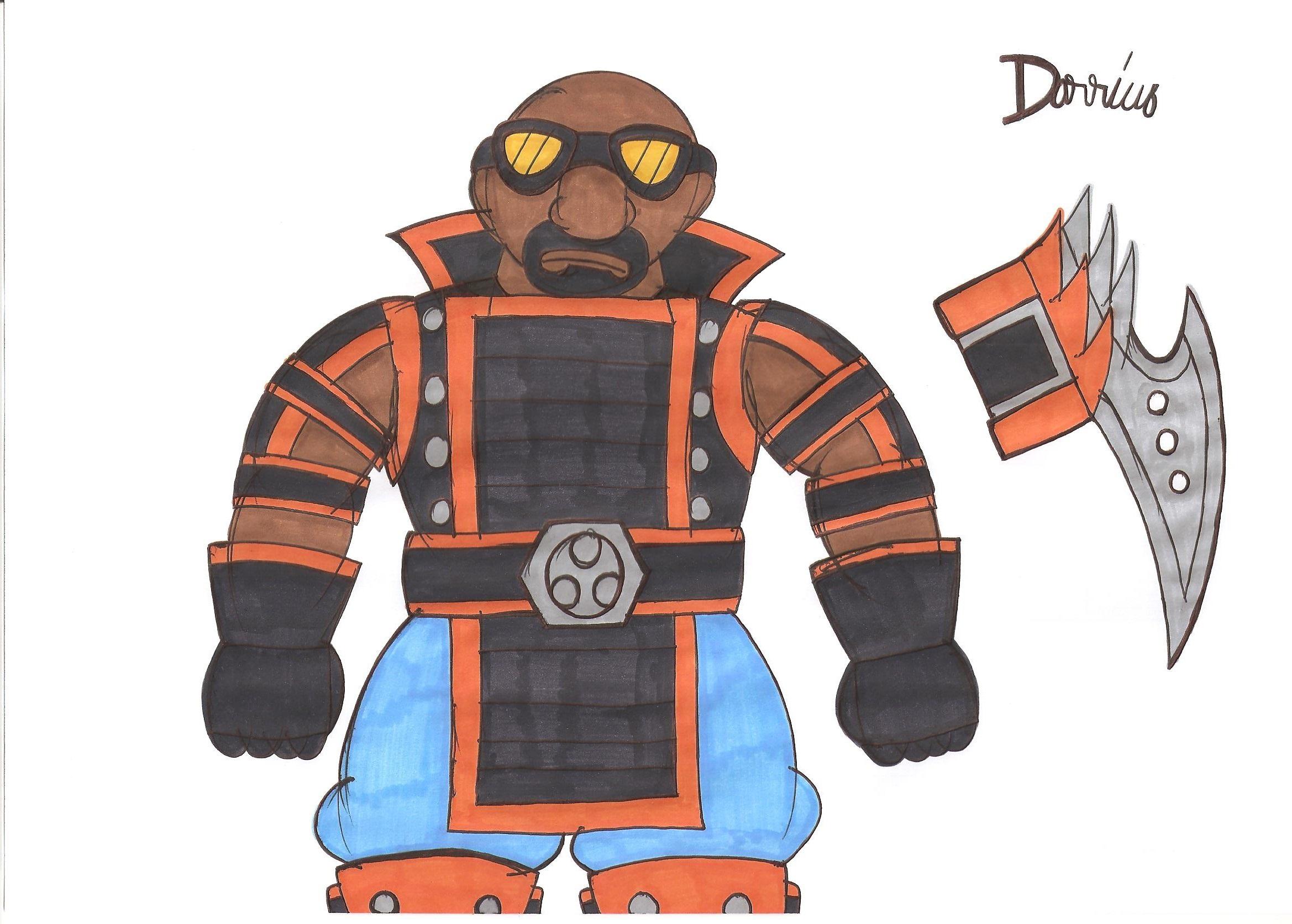 mortal kombat deception darrius by cargocamp on deviantart