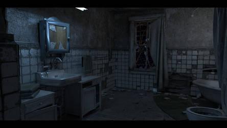 Resident Evil 7 - C01 Bathroom 01 by KellWesker