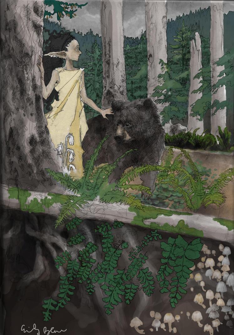 Bear Companion by dirtball