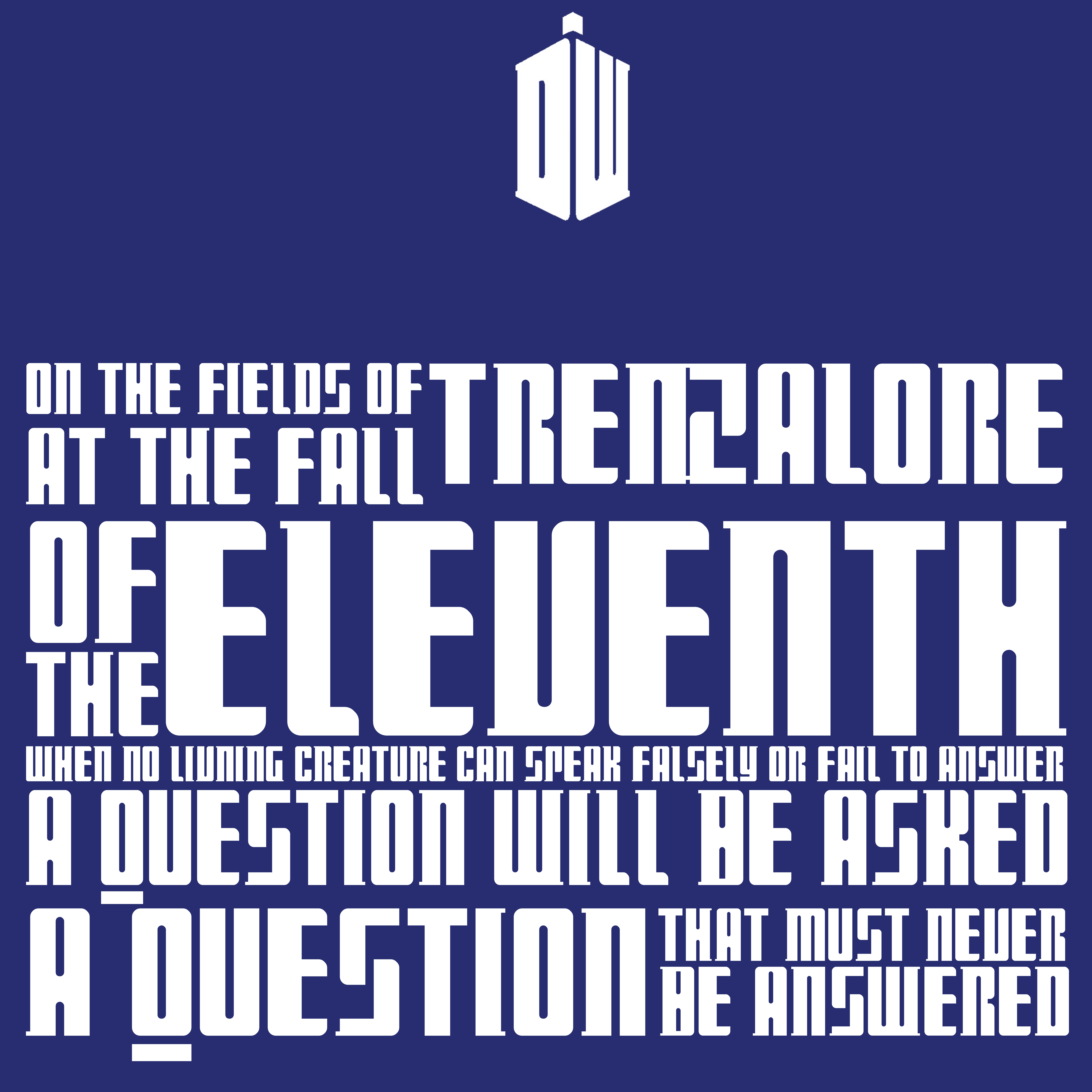Fields of Trenzalore quote - Doctor Who by davidwroxy