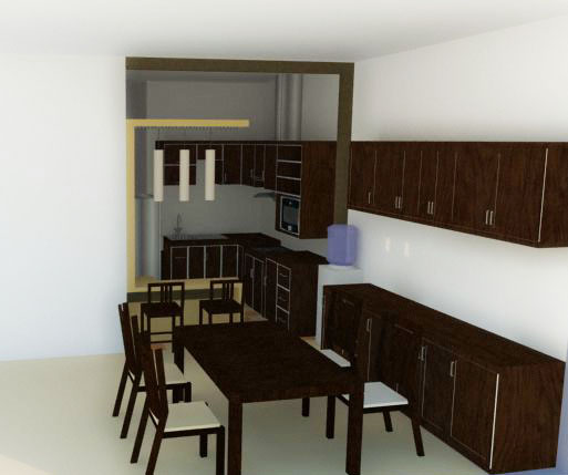 dapur dan ruang makan by 21sinu on deviantart