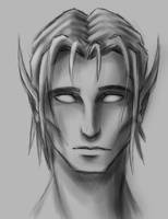 Elf male portrait by NadillPL