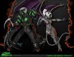 Nadill and Naera- Combat