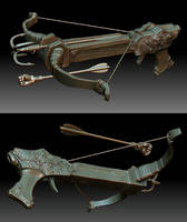 Crossbow Design for 3D Print by dem0n-be
