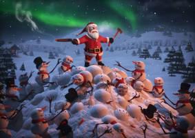 Christmas Card by dem0n-be