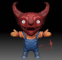 lil' demon by dem0n-be