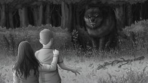 Wolf Novel Illustration commission by dem0n-be