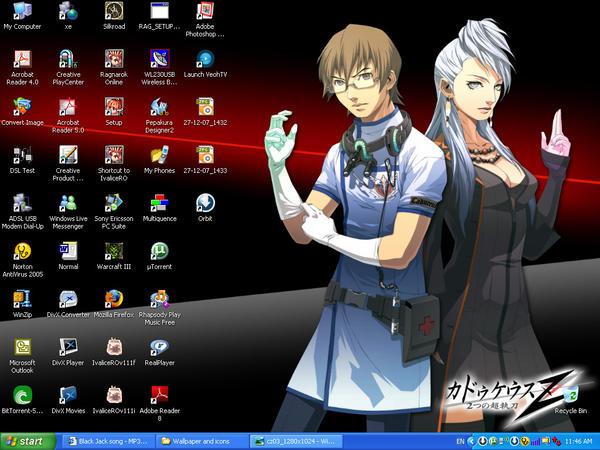 My Desktop by Xxl3lack4ngelxX