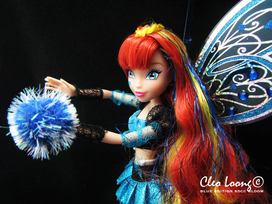 Bloom Of Winx Club SDCC Blue Edition by Xxl3lack4ngelxX