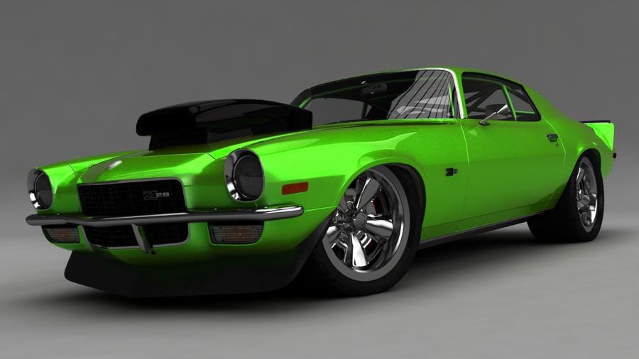 Harry Green Nissan >> Green Camaro | Autos Post