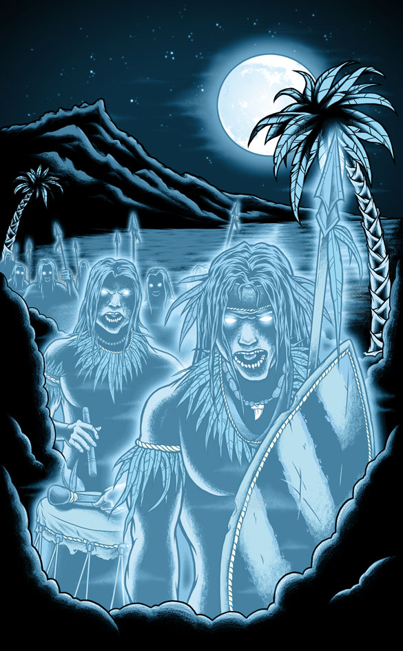 The Night Marchers - Shirt by scumbugg on DeviantArt
