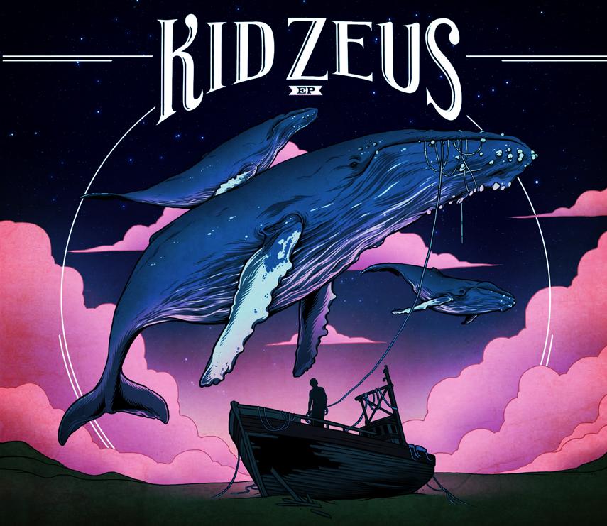 Kid Zeus - Ep - Album Cover by scumbugg