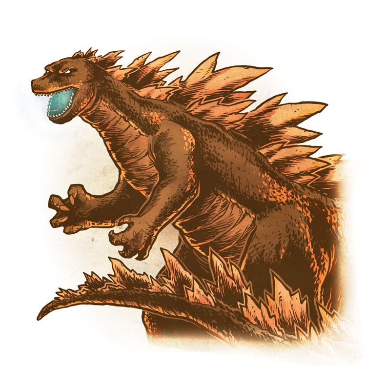Drawlloween 2015 - Day 31 - Dragon by scumbugg