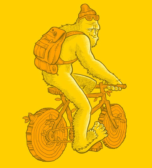 Bigfoot's Bike by scumbugg