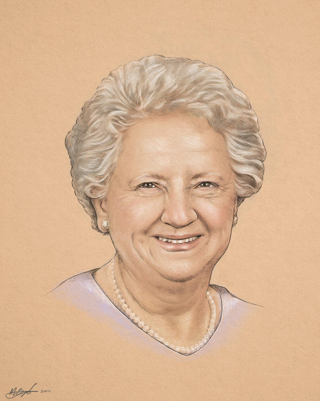 Grandma portrait by scumbugg