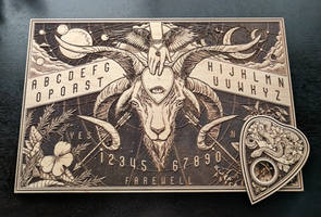 Ouija Board - Laser Etched