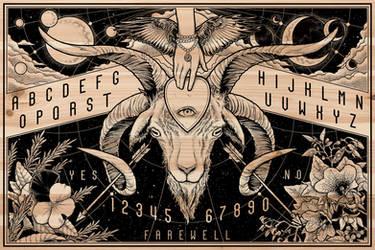Ouija Board - Art Detail