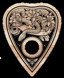 Ouija Board - Planchette Detail