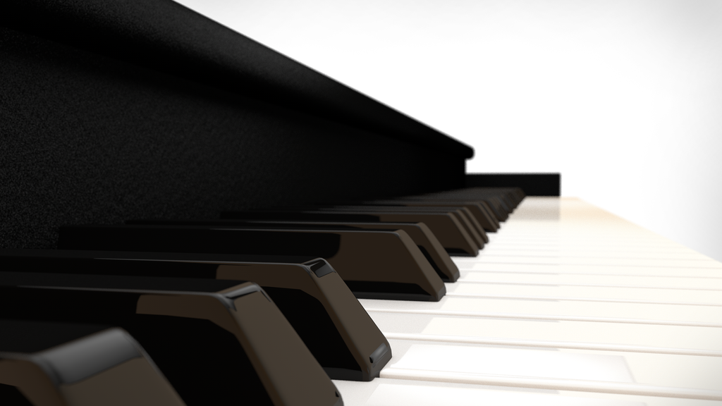 3D Piano Keys Wallpaper By Saifirenet