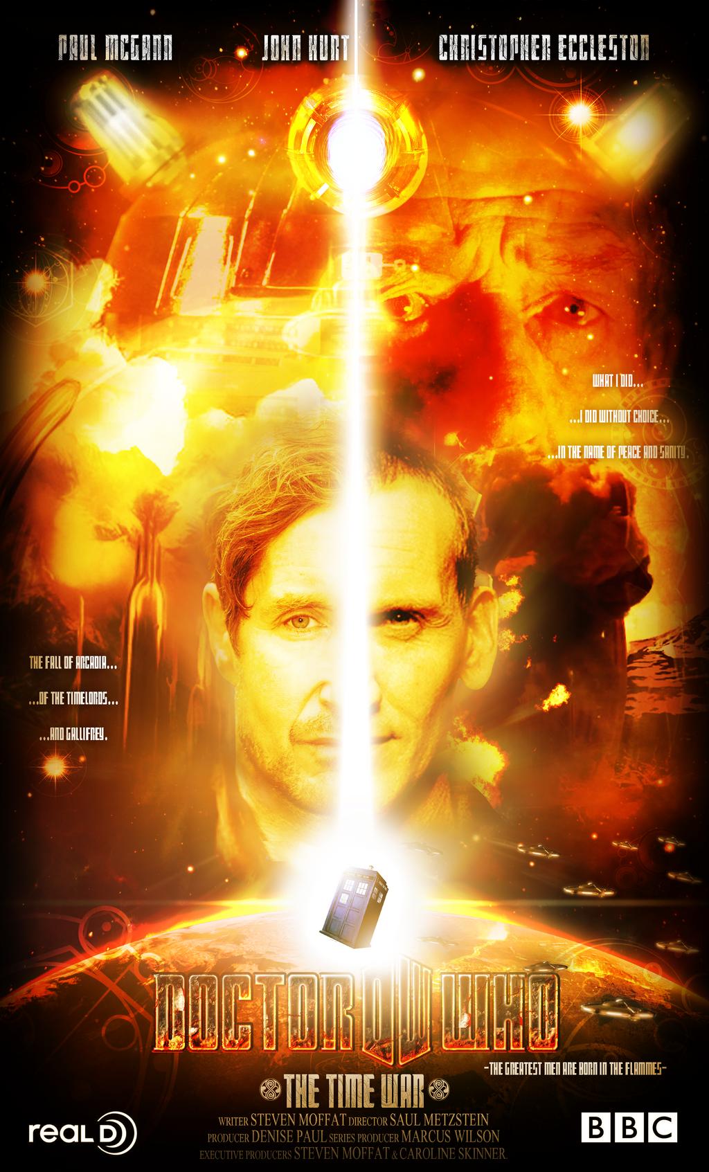 Doctor Who La Guerre du Temps by LordJamesConnors