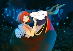 Ancient Magus Bride by Cyber-tuna
