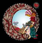 Madame Rose hybride de the