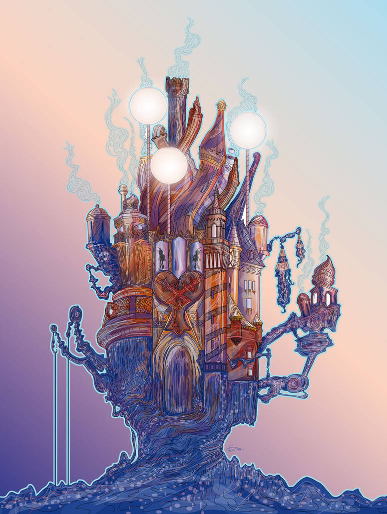 Hollow Bastion by ssst