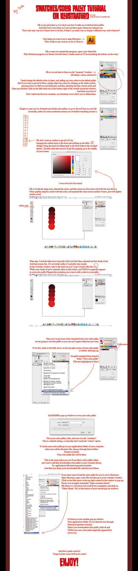 Color pallet tutorial by ssst