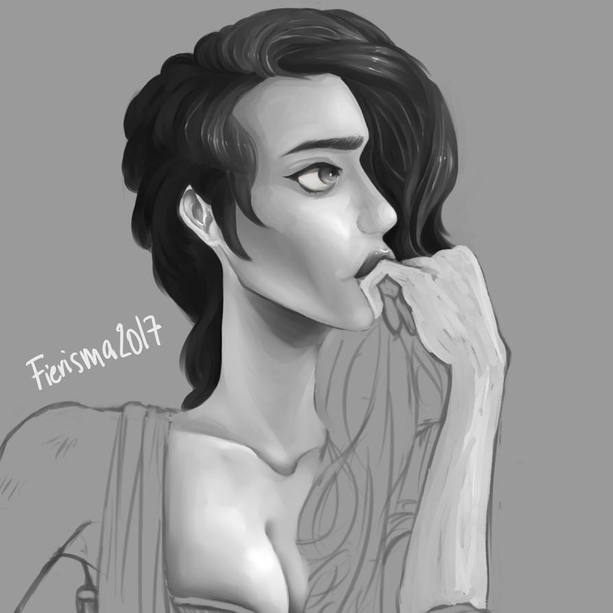Painting wip by Fierisma