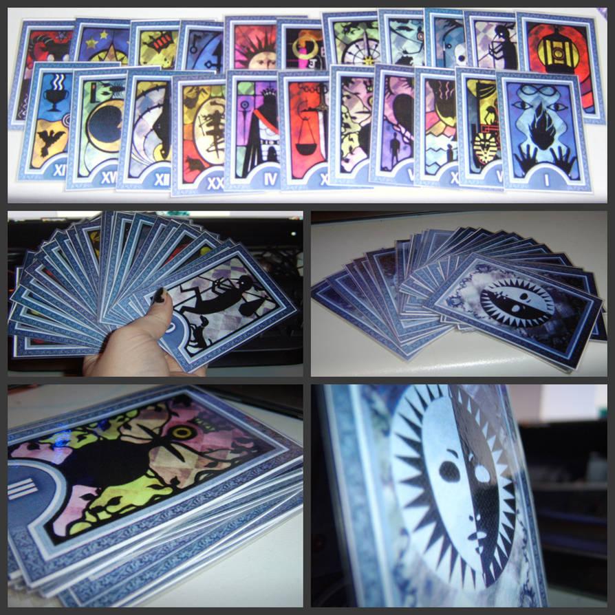Persona Arcana Cards