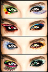 Bill Kaulitz Eyes by FDQ