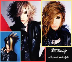 Bill Kaulitz alternate hairstyles by FDQ