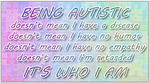 Being Autistic