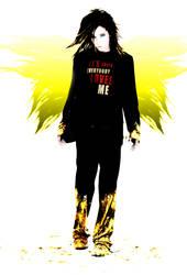 Bill as a Golden Angel by FDQ