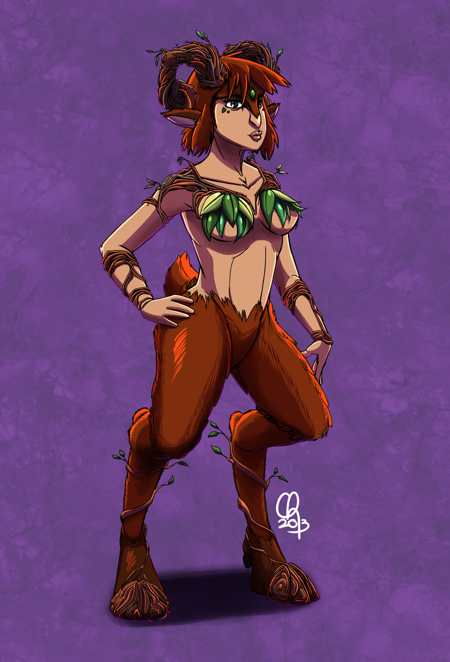 Lady Faun :: Earth [JAC] by stinawo